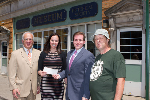 First Federal Historical Society donation